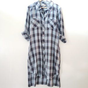 Democracy flannel dress sz.L